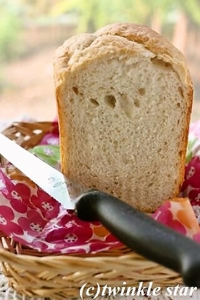 ホシノで塩麹の全粒粉食パン