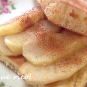 シリコンスチーマーで超簡単!煮リンゴ