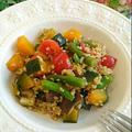 話題のスーパーフード「フリーカ」&夏野菜の彩りサラダ by Mariさん