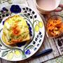 コーンスープの素で☆春キャベツのグラタントースト