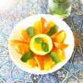 モロッコ風オレンジのマリネ