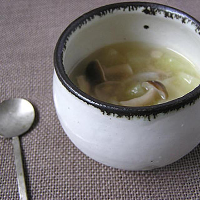 冬瓜の鶏そぼろスープ
