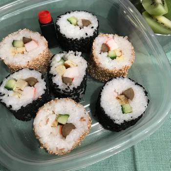 海苔を使わない巻き寿司