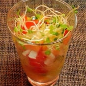サーモンと彩野菜のマリネサラダ