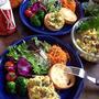お野菜もりもりディッシュ【南瓜のサラダ】 by peguさん
