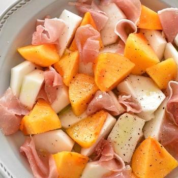 柿とかぶのサラダレシピ♡