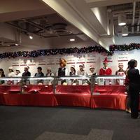 *西武池袋本店「クリスマスケーキ」試食会④*