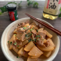 豚バラ大根の中華炒め煮