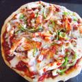 【ベジ】チーズの代用に白玉粉?!とろけるチーズ風ピザ☆(レシピ付)