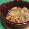 牡蠣のハーブパン粉焼き