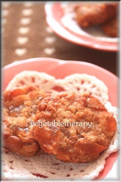 マクロビ☆りんごいっぱいタルトタタンクッキー