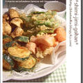 いろいろ野菜のフリッター 3種のスパイス塩添え
