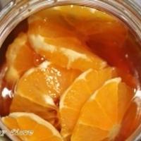 オレンジ入りブラウニー