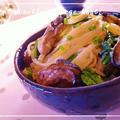 牡蠣のオイル漬けとほうれん草で創作パスタ♪ゆずクリームパスタ by MOMONAOさん
