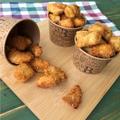 【パクパク食べれる!】ケンタッキー風⁈カレーチーズポップコーンチキン♡レシピ