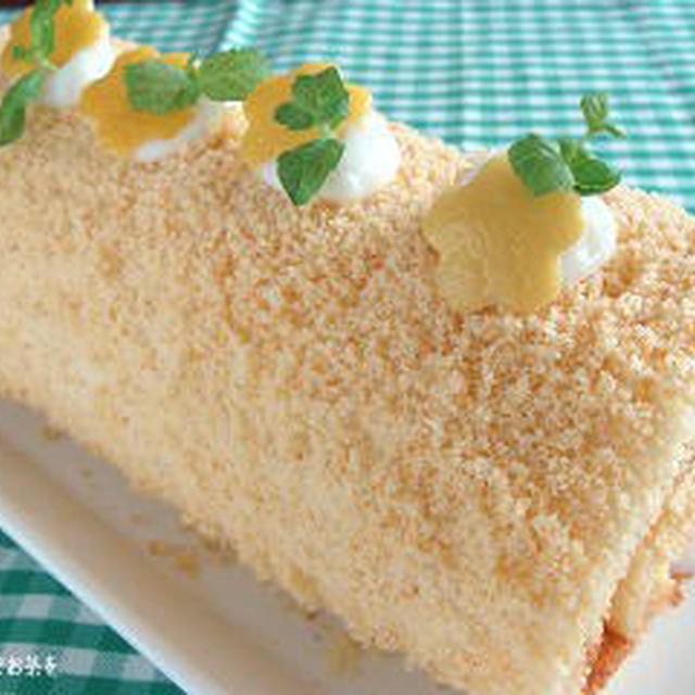 「デザート」トロピカル♪レモンロールのレシピ