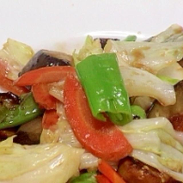 健康法師の 野菜ばっかり野菜炒め
