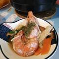 我が家の海老のトムヤムクン風シャンタン鍋♪