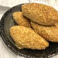 炒りパン粉で焼きカレーパン