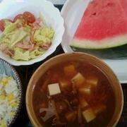 豆腐とナメコの味噌汁