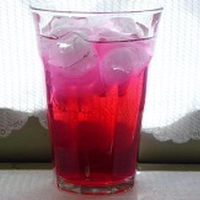 赤シソジュースとホットドッグ  飾り巻き寿司 JEUGIAカルチャー千里セルシークラス