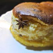 スライスチーズで作るチーズケーキ、チーズスフレ、アニス風味
