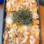 秋の親子丼弁当です!!
