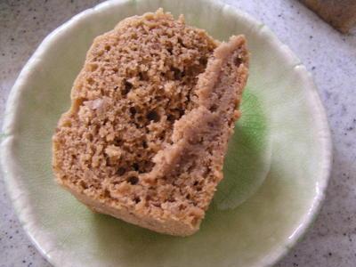 ゴボウの味噌蒸しケーキ!りーちゃんカフェ本日のケーキ