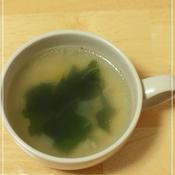 わかめ中華スープ
