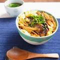 味つけいらずの10分ごはん! さんま缶とごぼうの蒲焼き丼 by 庭乃桃さん