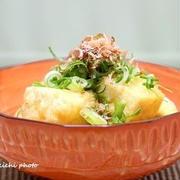 味付けは麺つゆだから簡単♪ほっこり温まる「揚げ出し豆腐」レシピ