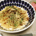 【レシピあり】早ゆでパスタで時短!和風きのこスパゲティ