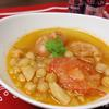 ひよこ豆とソーセージのパプリカ煮込み