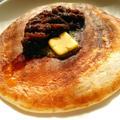 あんバタ&お餅で♪至福のパンケーキ♪