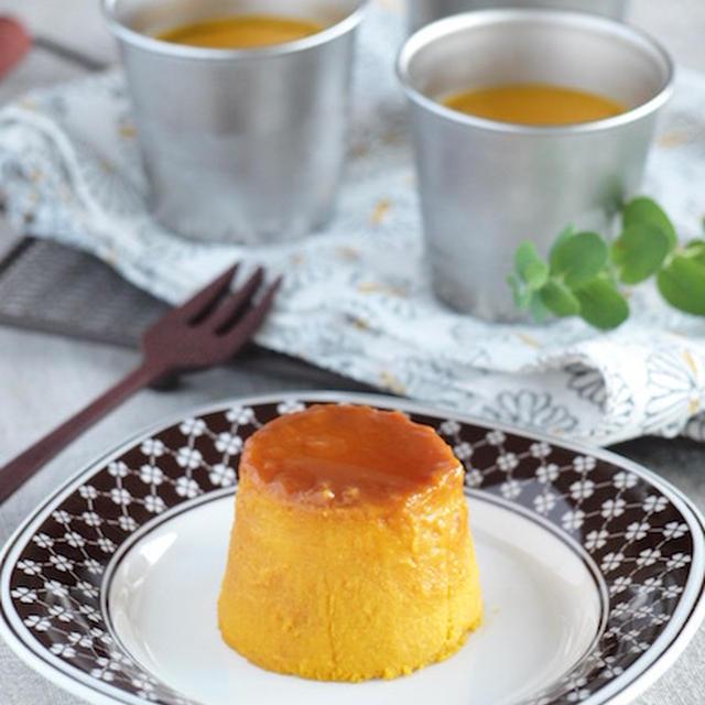 《レシピ》シンプルかぼちゃプリン