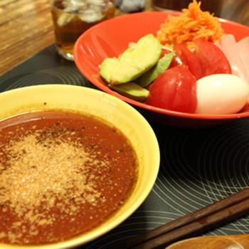 トマトつけ麺♪