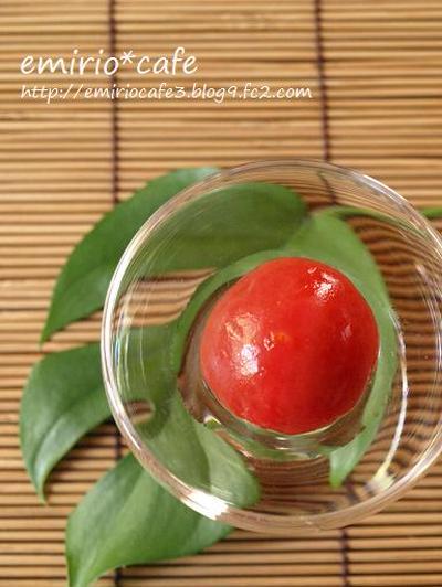 トマトの白ワイン煮