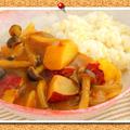東原亜希さんプロデュース!植物性・米粉・発酵食品を使った無添加【ベジカレールウ】で!【さつまいもとしめじのベジカレーライス】