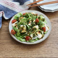 ピリ辛香味豆腐サラダ
