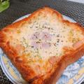 トースターひとつでボリューム満点!目玉焼きマヨチーズトースト