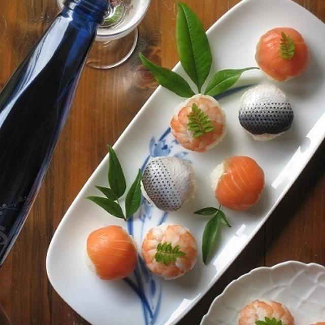 ひとくち手まり寿司♪ ~「澪」と楽しむパーティーレシピ~