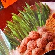 京都祇園「侘家古暦堂」さん 「かしわつくね鍋」 とろまったりな汁そば♪