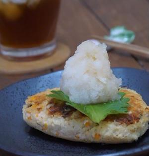 動物性食品なし!冷凍豆腐と大豆水煮のハンバーグ(第一弾)