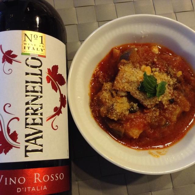 人気のイタリアワイン「タヴェルネッロ」と楽しもう♪お手軽イタリアン