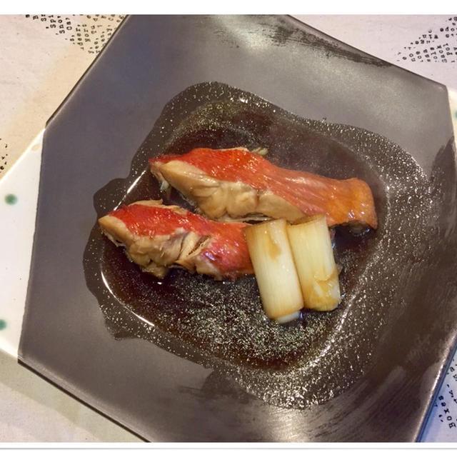 定番おかずの金目鯛の煮つけと大根の煮物〜♪♪