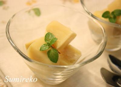 オレンジヨーグルトアイスキューブ マクロビオティックスイーツレシピ