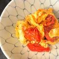 朝ゴハンやおつまみに…超スピード料理のトマトと卵の中華炒め
