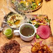 チャヤマクロビ 日比谷シャンテでディナー