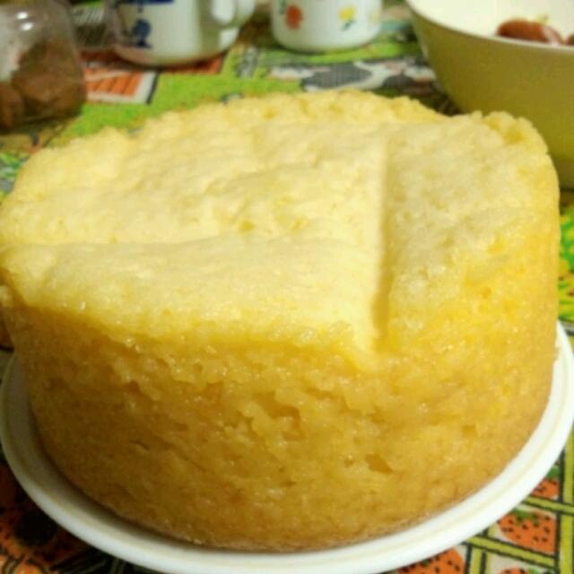 炊飯器ケーキ ~基本形~