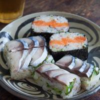 〆鯖のおにぎり寿司